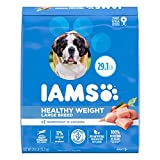 IAMS PROACTIVE HEALTH Adult Healthy Weight Control Large Breed Dry Dog Food with Real Chicken, 29.1 lb. Bag