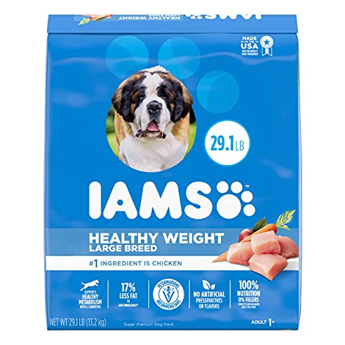 Iams Proactive Health Adult Dry Dog Food for Healthy Weight – Chicken
