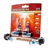 SYLVANIA H11 SilverStar Ultra High Performance Halogen Headlight Bulb,...
