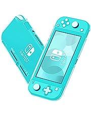 Coholl transparante Case, Crystal Cover Case Compatibel met Nintendo Switch en Joy-Con Controller, TPU transparante schokabsorptie technologie Bumper beschermende accessoires