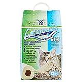 Cat&Rina Cat&Rina Catigienica Lettiera per Gatti in Carta, Biodegradabile ed Assorbente, Confezione da 12 L