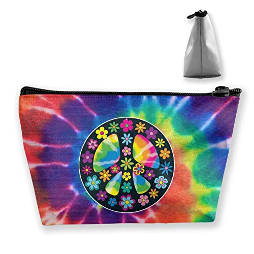 Art Peace Signs Portable Travel Makeup Bags Shaving Kit Buggy Bag Organizers