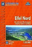 Hikeline Wanderführer Eifel Nord. Die schönsten Wanderungen zwischen Aachen und Bonn, 1 : 50 000, 580 km, wasserfest, GPS-Tracks Download