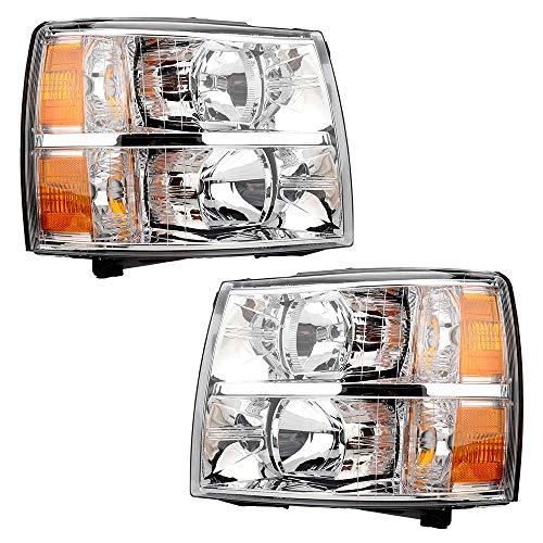 09 silverado headlight assembly - 5