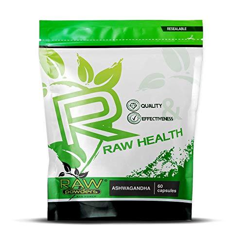 RP Ashwagandha Extract 5:1 500mg | 60 Vegetarische Capsules | Hoog Sterkte Extract | Indiase Ginseng Ayurveda | Adaptogeen Nootropicum | Geproduceerd in ISO gelicenseerde faciliteiten| Non GMO & Glutenvrij