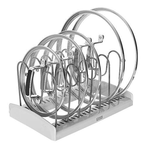 Livivo Topfdeckelhalter für Topf- und Pfannendeckel