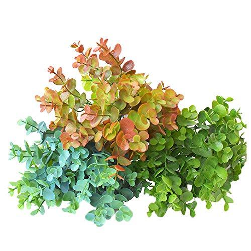 KAERMA Eucalyptus Green Plant Ideaal voor binnen- en buitenshuis tuinbureaus Huisdecoratie plantaccessoires