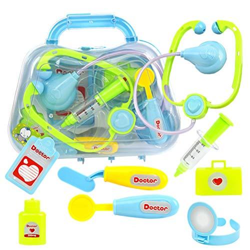 8 piezas de juguete médico kit niños simulación juego médico juguete educativo...