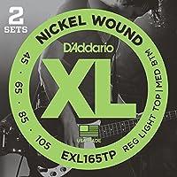 D'Addario/ダダリオ EXL165TP ツインパック/ベース弦×2パック(計4セット)