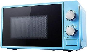 XYSQWZ Horno De Microondas De 20 litros 800 Vatios Horno De Microondas Individual con Función De Descongelación 6 Niveles De Potencia Temporizador De 0 A 30 Min Cocción Exprés con Un Solo Toque Fácil