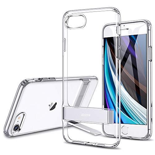 ESR Funda Serie Metal Kickstand para iPhone SE [Soporte Vertical y Horizontal]...