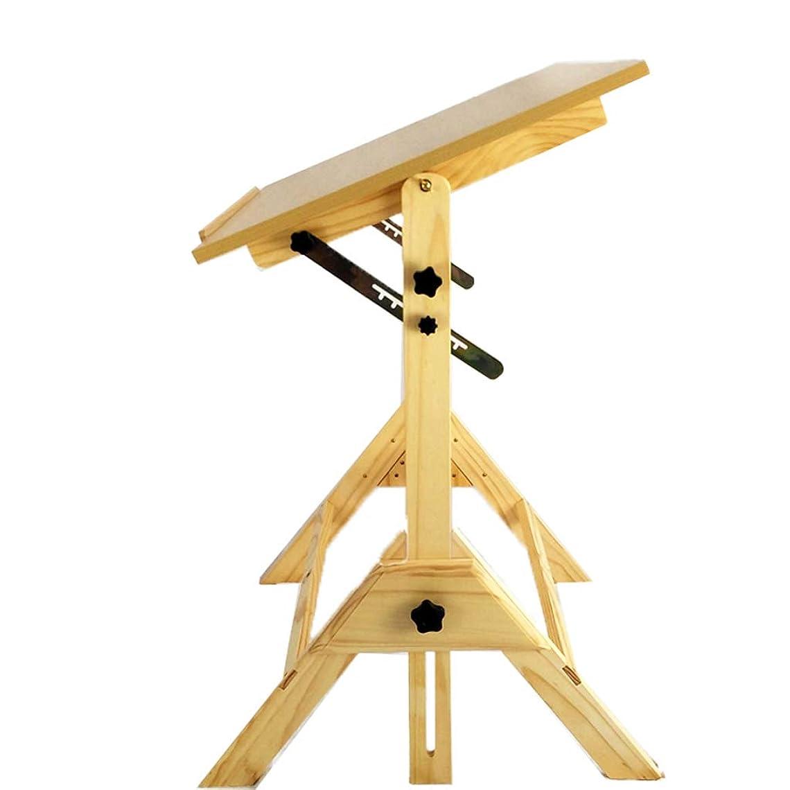 飢饉札入れ等しいDjyyh 木製イーゼル広告スケッチディスプレイスタンド描画テーブルペイントボードスケッチリフト学生イーゼル