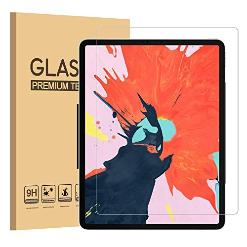 BNBUKLTD® - Protector de pantalla de cristal templado para Apple iPad Pro 12.9 (2018)