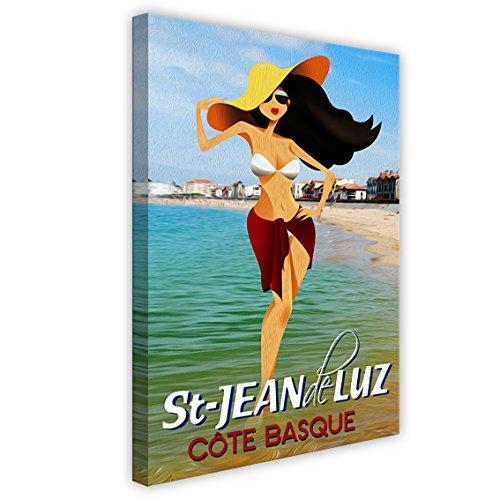 Jean Gabin Reproduction Haut de Gamme Poster 30 x 40 cm: Maigret Sets a Trap 1958 de Everett Collection Nouveau Poster