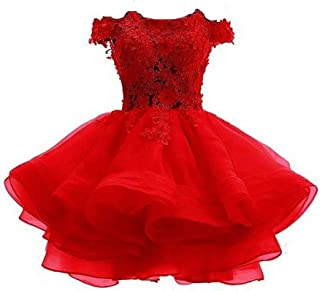 Best red organza prom dress Reviews