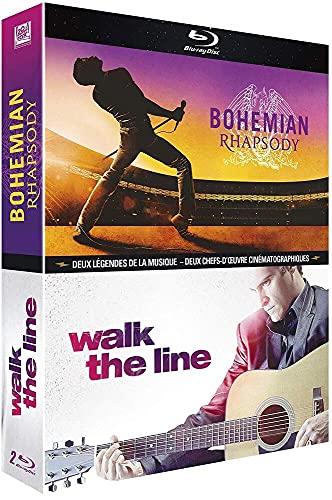 Bohemian Rhapsody + Walk the Line [Francia] [Blu-ray]