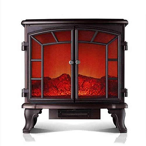 NQ-ChongTian Heizung Fernbedienung Elektroherd realistische Flammenelektroherd Heizung Elektro-Kamin