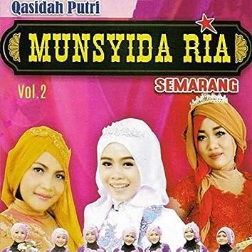 Qasidah Putri Munsyida Ria, Vol. 2