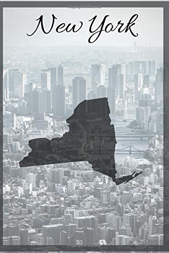 New York: 6x9 Lined Journal, 200 pages, Travel Paperback