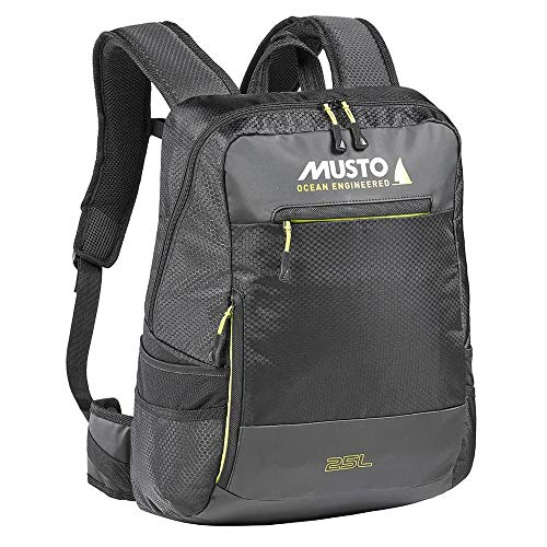 Musto Essential Backpack Rucksack Bag 25L 25 Liter Inhalt Schwarz - Easy Stretch Lightweight