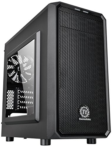 GABINETE TT VERSA H15 BLACK CASE WINDOW SECC CA-1D4-00S1WN-00*, Thermaltake, CA-1D4-00S1WN-00*
