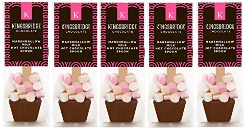 5 Pack of Marshmallow Milk Hot Chocolate Spoons