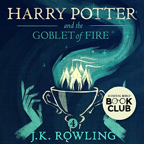 Harry Potter and the Goblet of Fire, Book 4 audiobook cover art