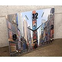 インテリア雑貨 時計 使う場所に合わせて飾れる インテリア ガラスウォールクロック