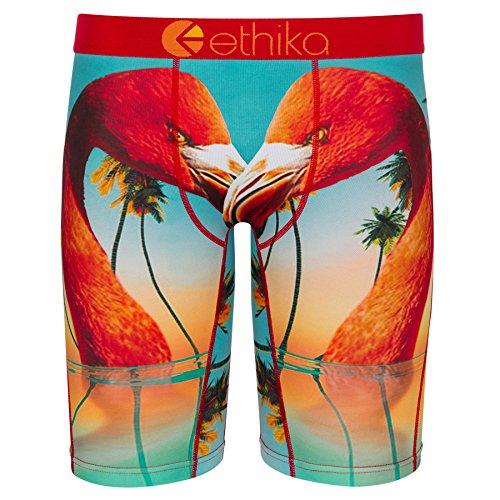 Ethika Mens Staple Boxer Briefs | Flamingo Island (Assorted, Large)