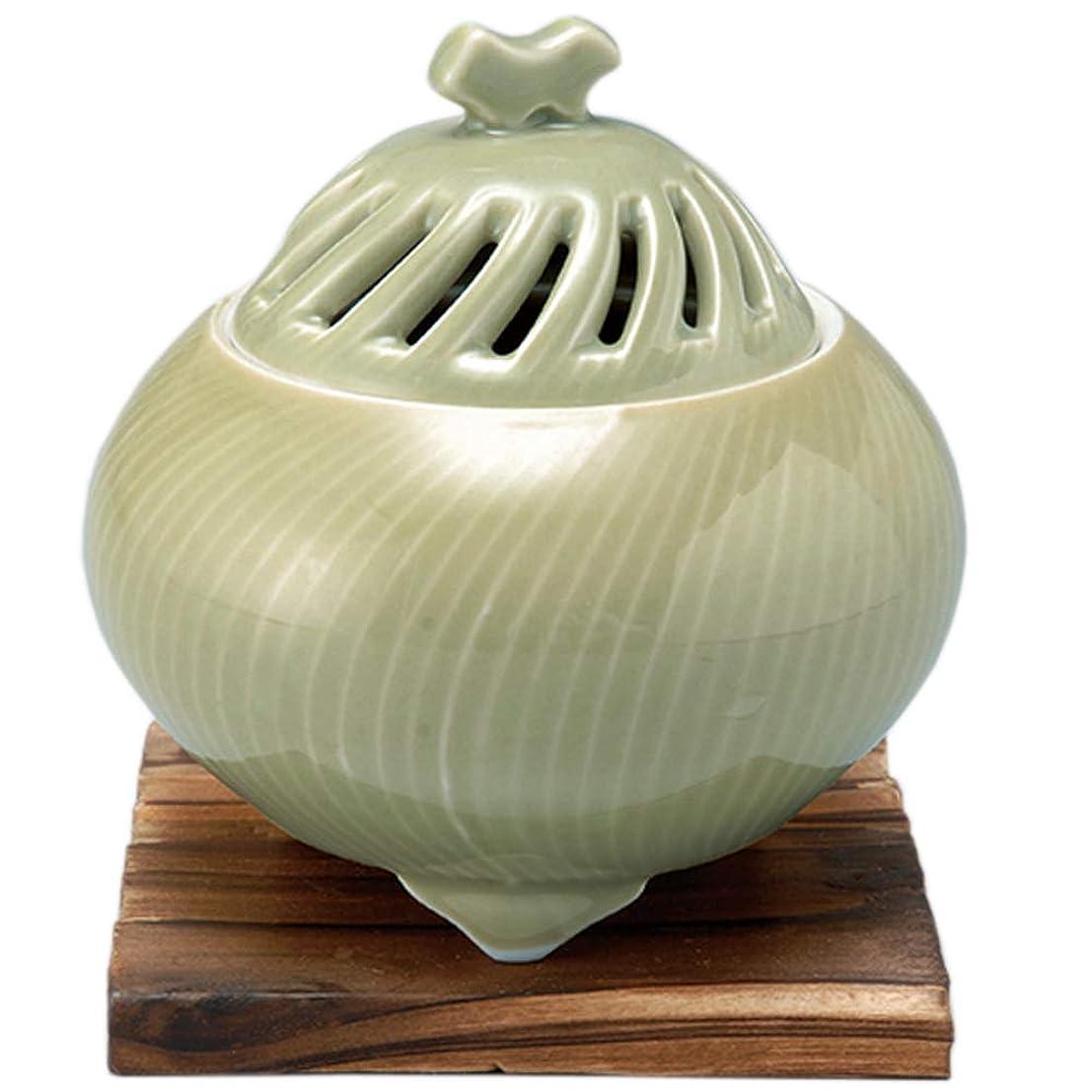 責任ダウン前方へ香炉 鶯透し 丸型香炉 [R11xH11.3cm] プレゼント ギフト 和食器 かわいい インテリア