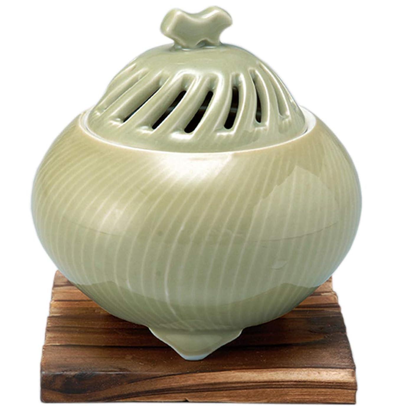 布どこでも決定する香炉 鶯透し 丸型香炉 [R11xH11.3cm] プレゼント ギフト 和食器 かわいい インテリア
