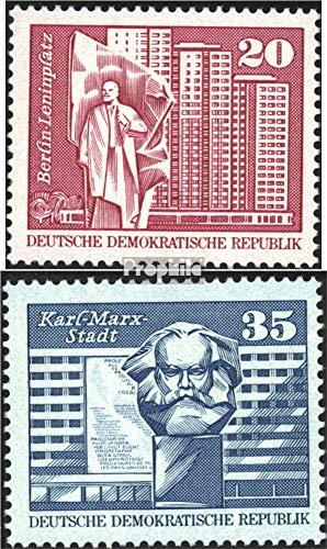 Prophila Collection DDR 1820-1821 (kompl.Ausg.) 1973 Aufbau in der DDR, Großformat (Briefmarken für Sammler)