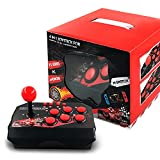 bfh Arcade Fight Stick Street Fight Joystick Gamepad Controller para PS3 / PC, Dispositivo de Control de Juegos de Street Fighting Arcade