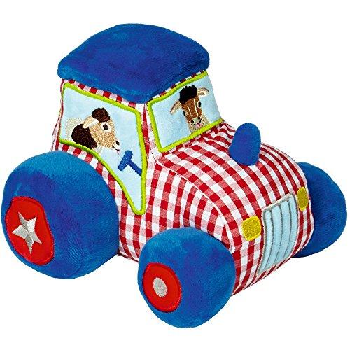 Spiegelburg 13719 Traktor mit Vibrations- und Soundmodul BabyGlück