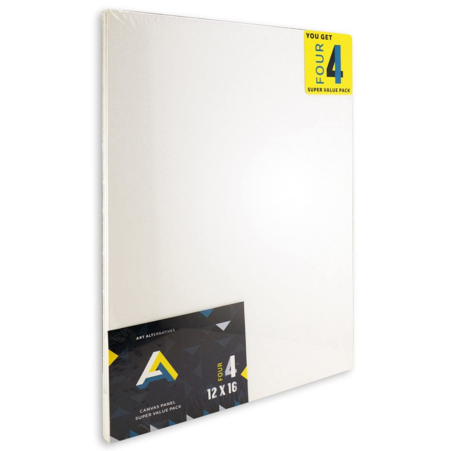 Aa Super Value Canvas Panel 12X16 Pack of 4