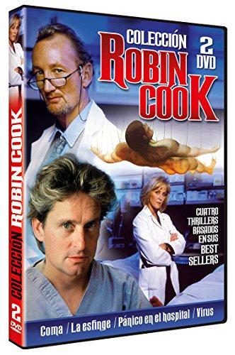 Colección Robin Cook: Coma + La Esfinge (Sphinx) + Pánico en el Hospital (Mortal Fear) + Virus (Formula for Death)