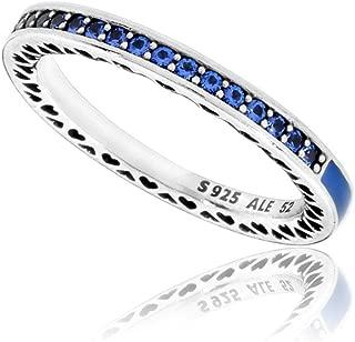 Nudo del anillo del amor de plata chispeante 925/1000 PANDORA 190997CZ - 52