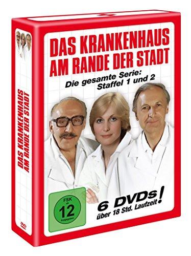 Das Krankenhaus am Rande der Stadt - Staffeln 1+2 (6 DVDs)