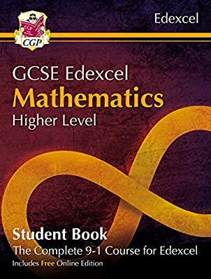 New Grade 9-1 GCSE Maths Edexcel Student Book - Higher (with Online Edition) (CGP GCSE Maths 9-1 Revision) from Coordination Group Publications Ltd (CGP)