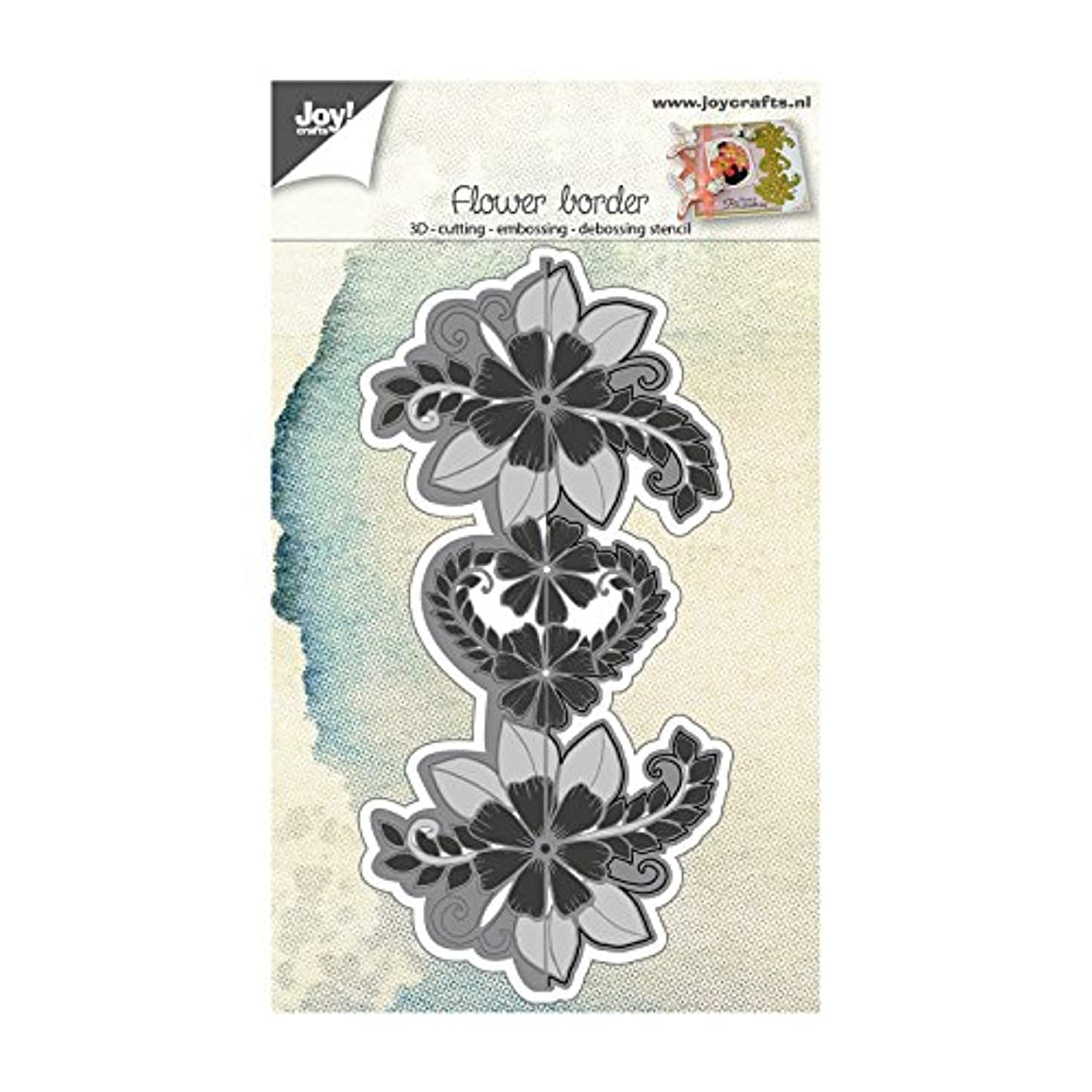 Joy Crafts - Cut-Emboss-Deboss Die 3D - Endless Flower Border