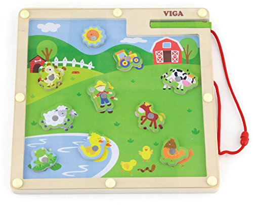 Viga Toys - magneetspel - boerderij
