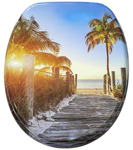 WC Sitz mit Absenkautomatik, hochwertige Oberfläche, einfache Montage, stabile Scharniere, Fort Lauderdale