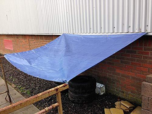 Neilsen - Toldo protector con ojales de sujeción, color azul