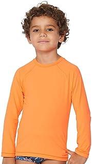 Camiseta Infantil UV Laranja | 573.759