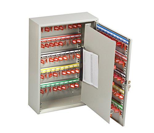 Caja de llaves OfficeForce para 150 llaves, con cierre (20087)