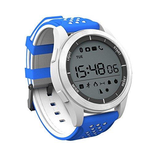 XHZNDZ Reloj Impermeable IP68 Reloj Inteligente Bluetooth Reloj de Entrenamiento F3 Fitness Tracker Sleep Monitor Smartwatch Compatible con iOS Teléfono iPhone Android Hombre Mujer y Niño