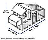Kunststoff und Holz Hühnerstall - 5