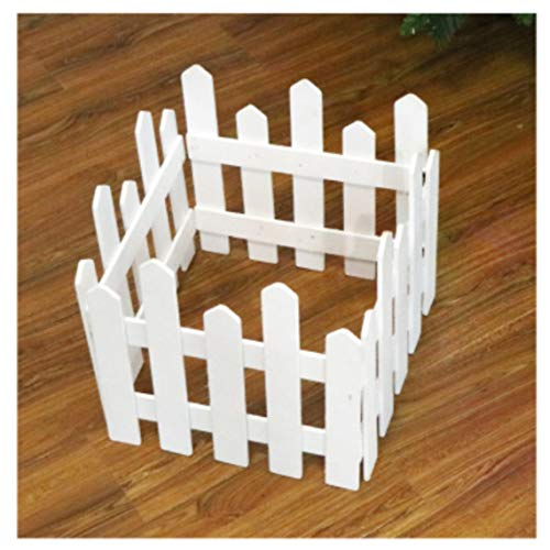 Natro Christmas tree decoration 1.2 m wooden fence Christmas scene layout window props