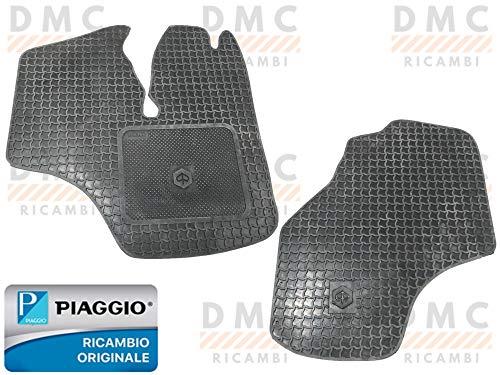 KIT 2 TAPPETI TAPPETINI IN GOMMA PIAGGIO PORTER TUTTI I MODELLI - PIAGGIO QUARGO ORIGINALE PIAGGIO 600645M