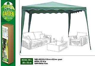 Aktive Garden 53858 - Cenador Verde 300 x 300 x 250 cm